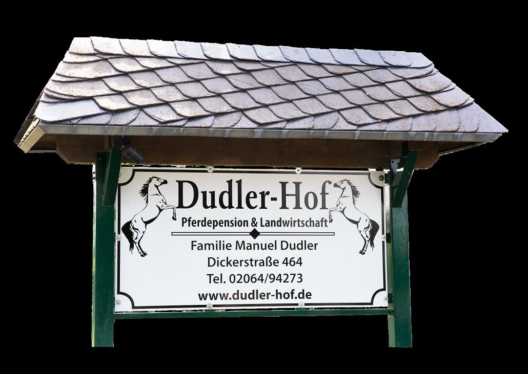 Dudler-Hof - Pferdepension & Landwirtschaft - Familie Manuel Dudler - Dickerstraße 464 - 46539 Dinslaken-Oberlohberg
