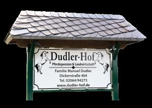 Dudler-Hof - Pferdepension & Landwirtschaft